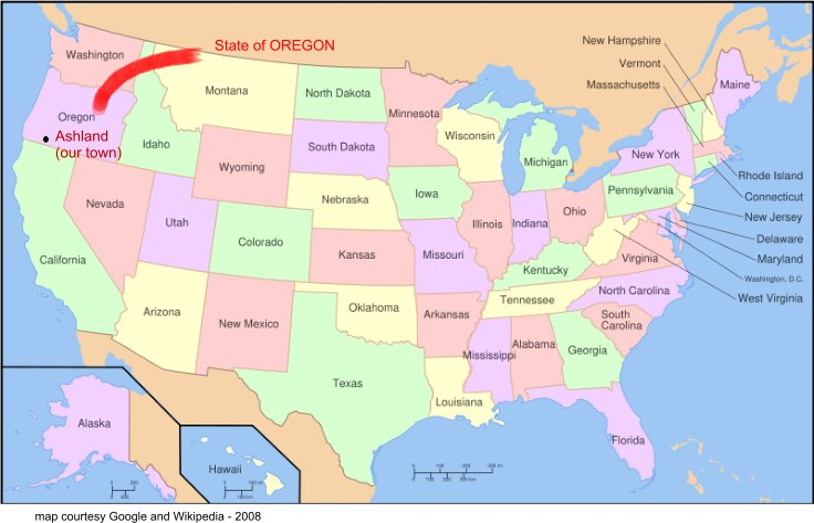 Oregon Map Geography Of Oregon Map Of Oregon Worldatlascom Map - Oregon map us